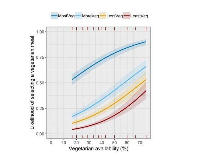 veggie consumption versus veggie options