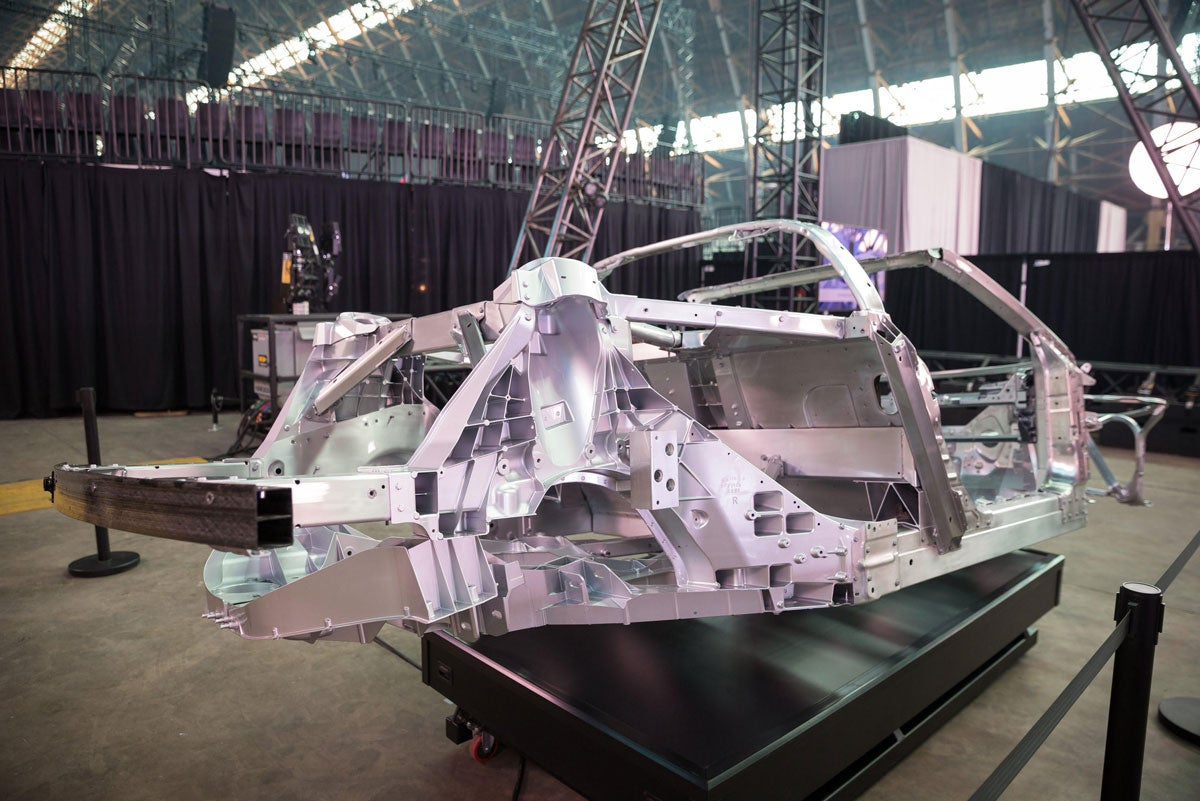 An inside look at the 2020 Corvette Stingray's innovative chassis design