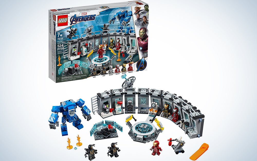 Marvel Avengers Iron Man Hall of Armor