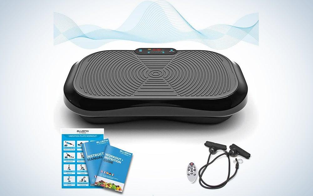 Bluefin Fitness Ultra Slim Vibration Platform