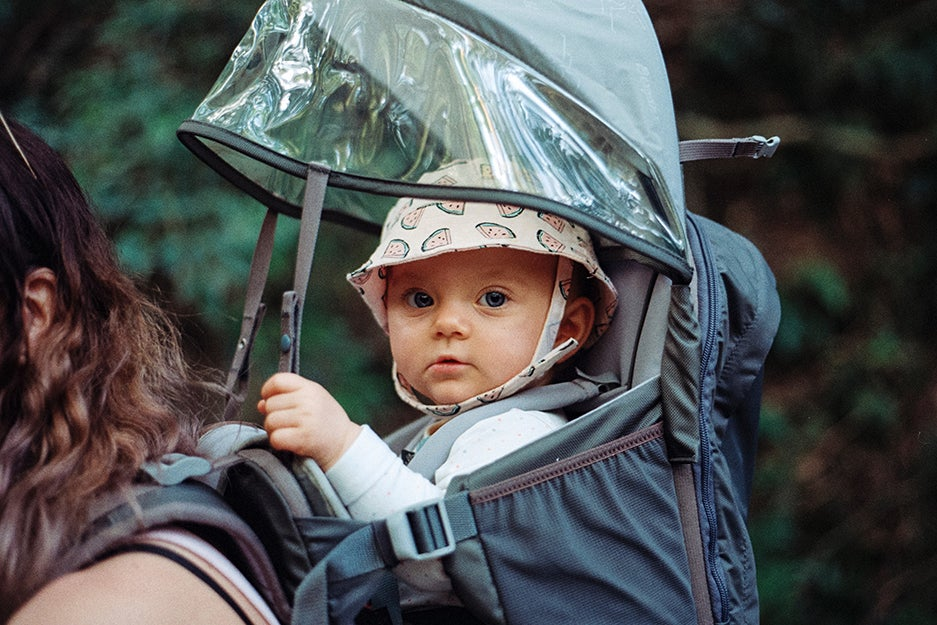 Keep your baby close with these snug and secure carriers