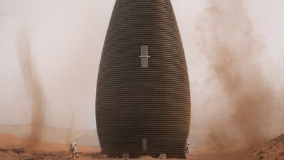 Inside NASA's plan to use Martian dirt to build houses on Mars