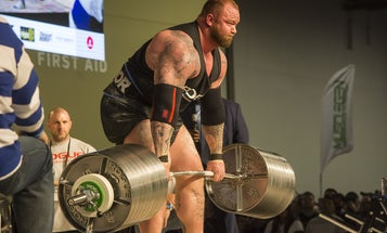 Here's what would happen if you worked out like a strongman
