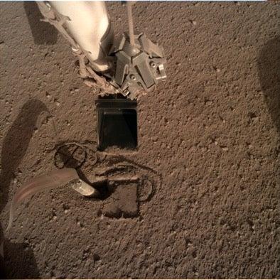 NASA's plan to save its stuck Mars drill involves a robot with a shovel