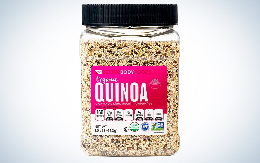 Organic Quinoa from Better Body Foods