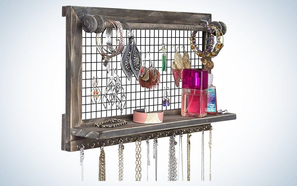 Rustic Jewelry Organizer