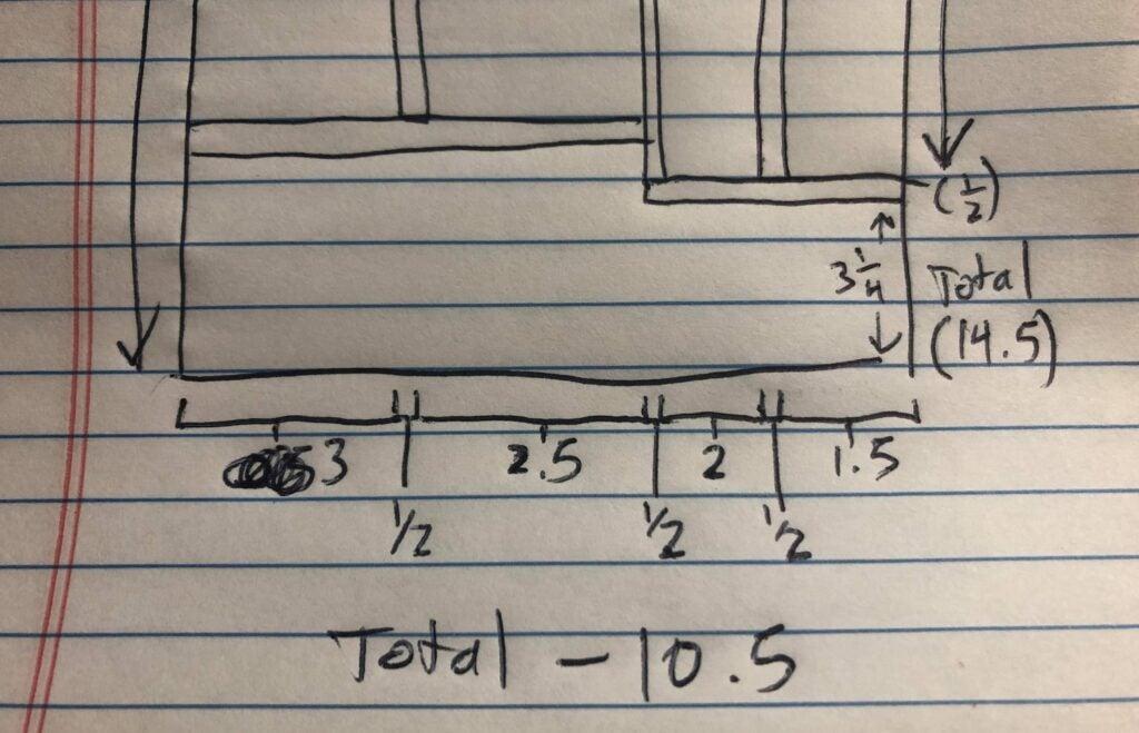 drawer measurement organizer