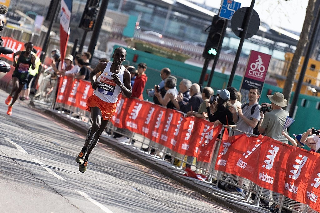 Eliud Kipchoge just ran a marathon in less than two hours—how much faster does science say humans can get?