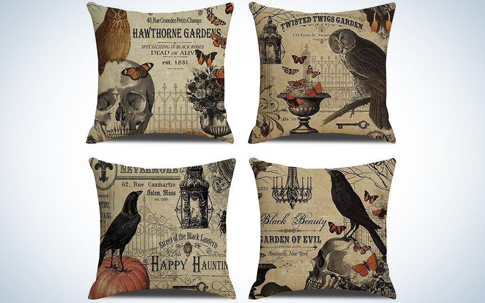 RUOAR Vintage Pillows