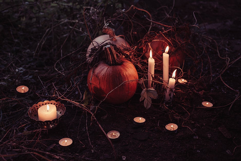 Sinister décor for those who wallow in darkness all year round