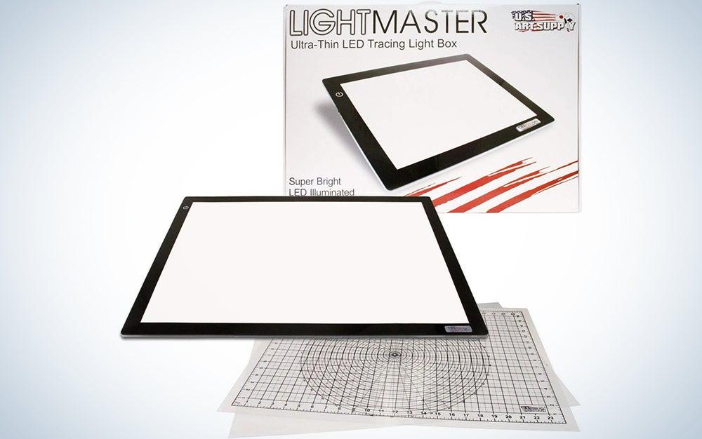 US ART SUPPLY Lightmaster Extra Large Lightbox