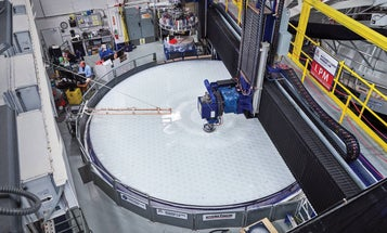 Behind the looking glass of the world's biggest telescope