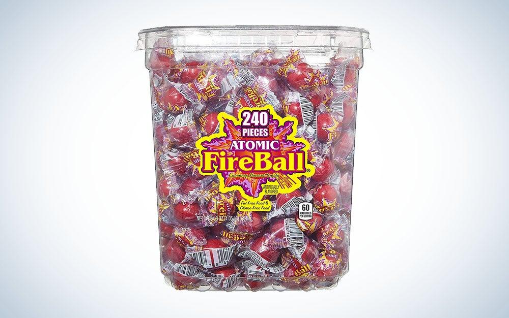 Fireball candies