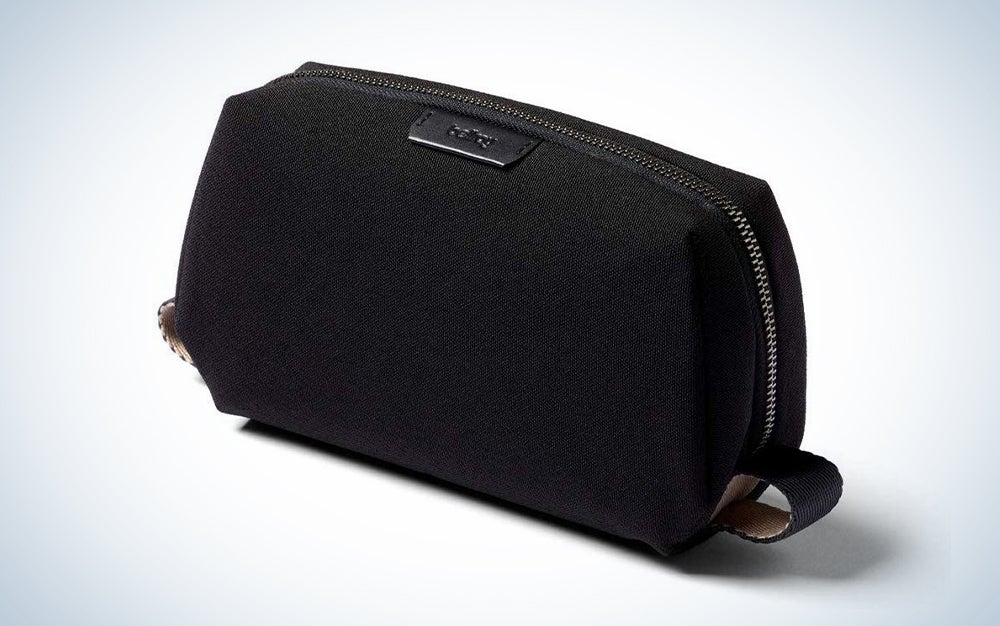 Bellroy Dopp Kit, Water-Resistant Woven Toiletry Travel Bag