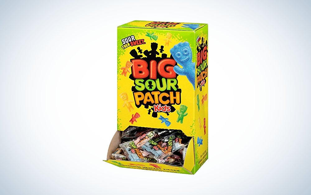 Big Sour Patch Kids, individually wrapped
