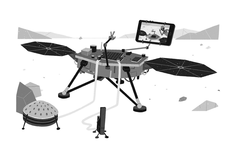 Who uses Photoshop on a Mars selfie?