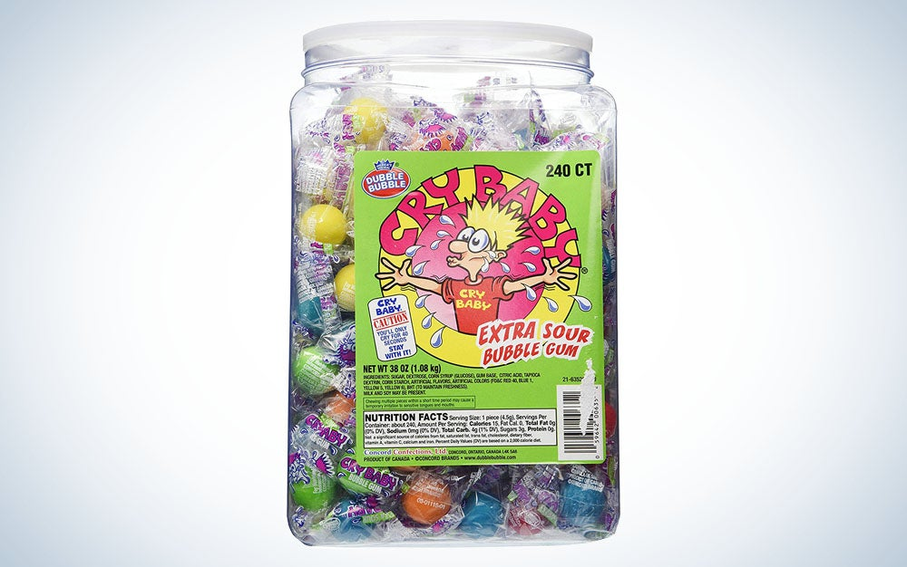 Cry Baby sour candies