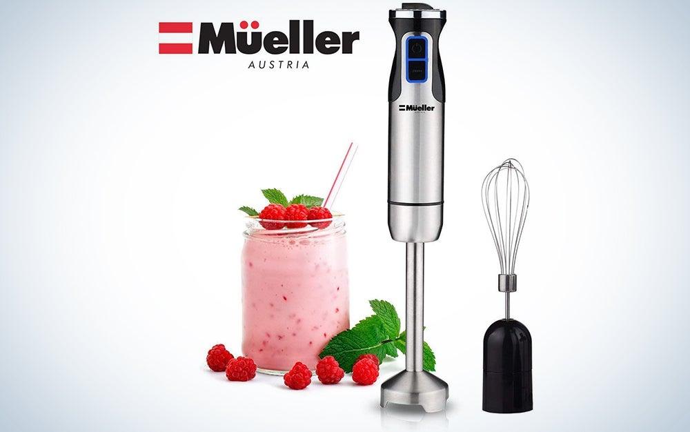 Mueller Austria Ultra-Stick 500 Watt 9-Speed Immersion Blender