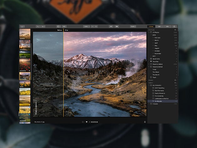 Easily enhance your photos with this award-winning photography software