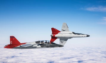 Boeing's new fighter jet trainer features stadium seating and touchscreens