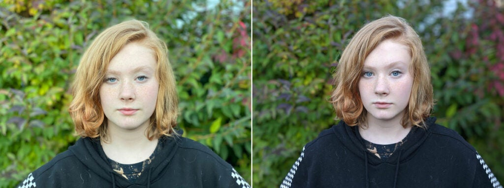 Pixel 4 comparison