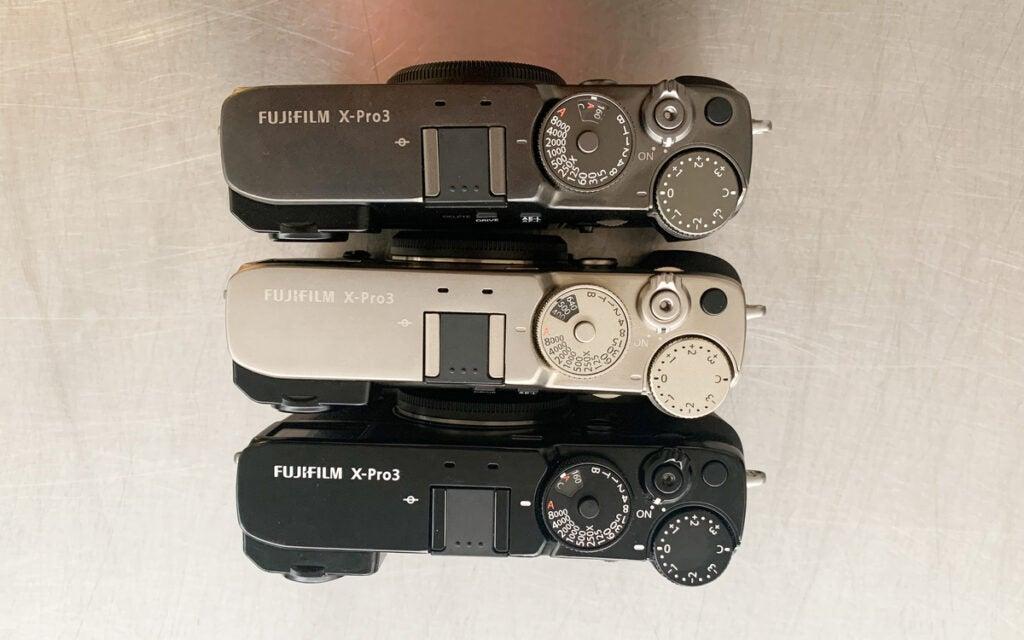 Fujifilm X-Pro3 colors