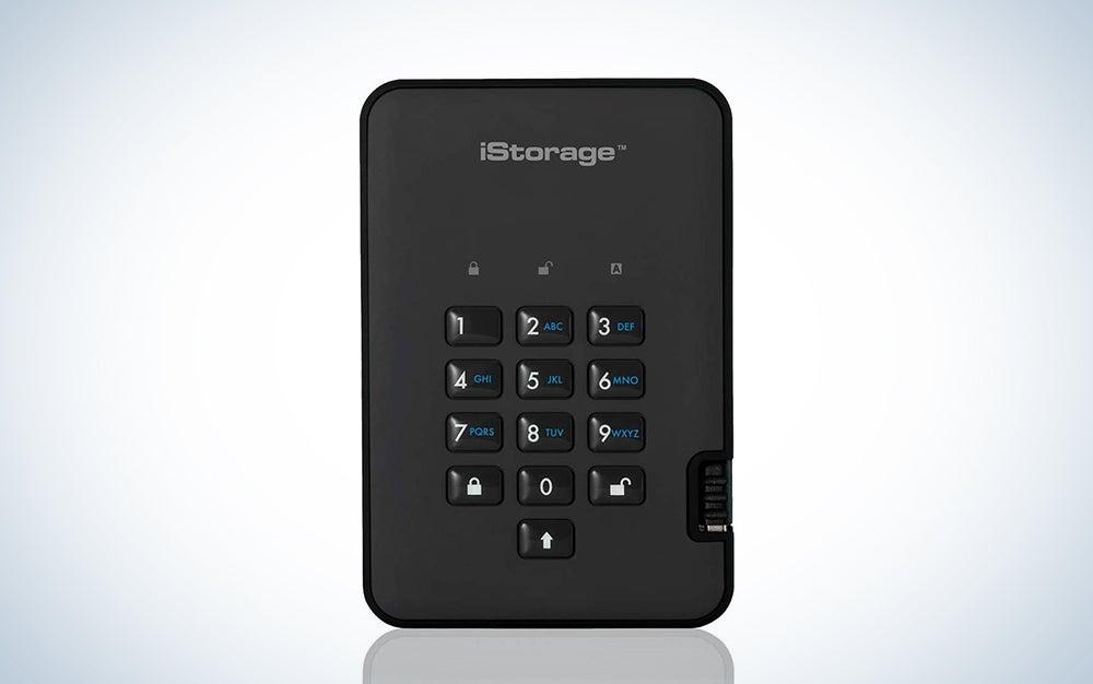 iStorage diskAshur2 256-bit Secure Encrypted Hard Drive