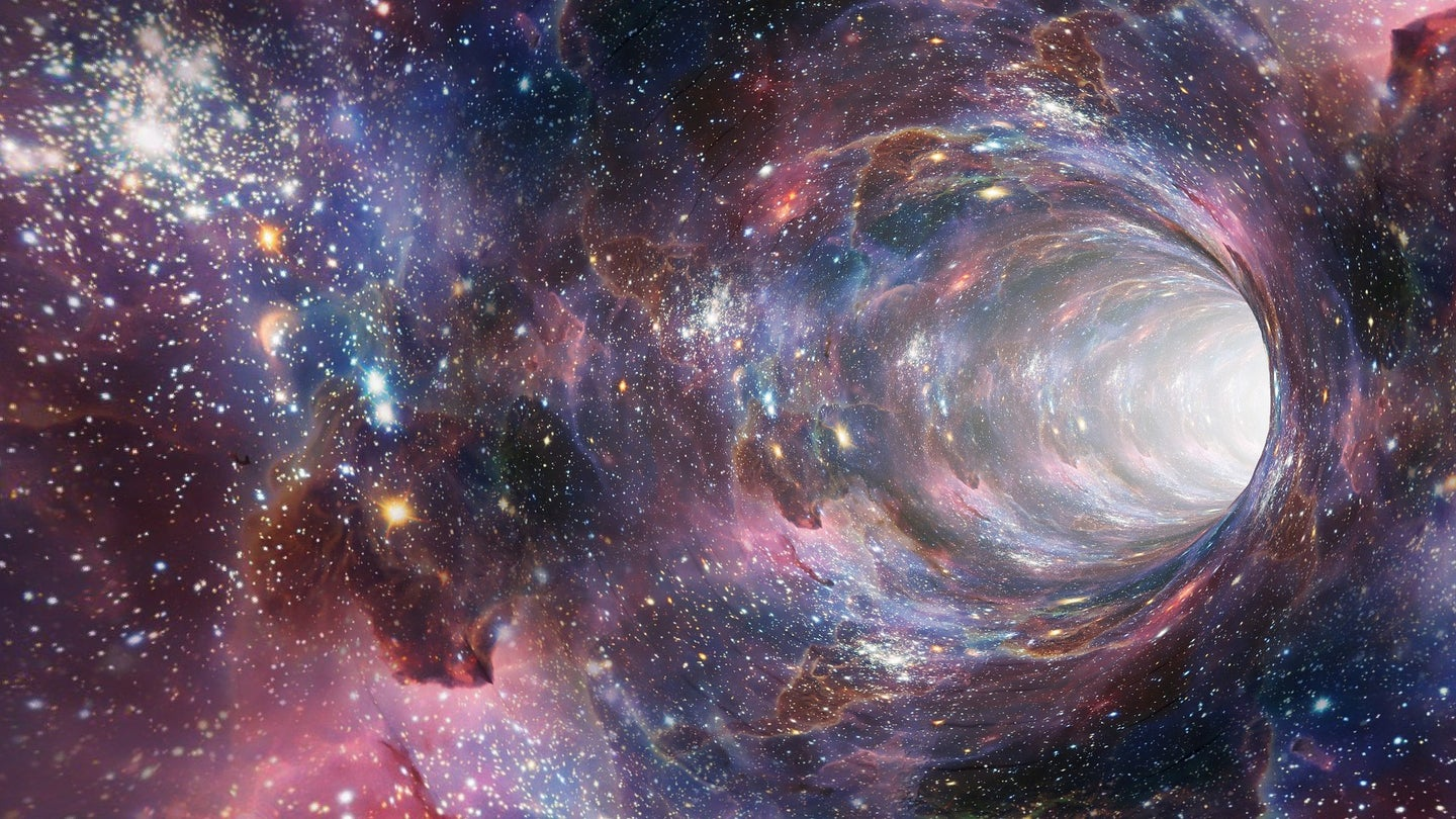 There's a chance the black hole at the center of our galaxy is actually a wormhole