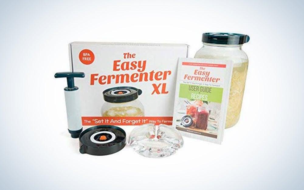 Easy Fermenter XL: Simplified Fermenting In 1 Gallon Jars