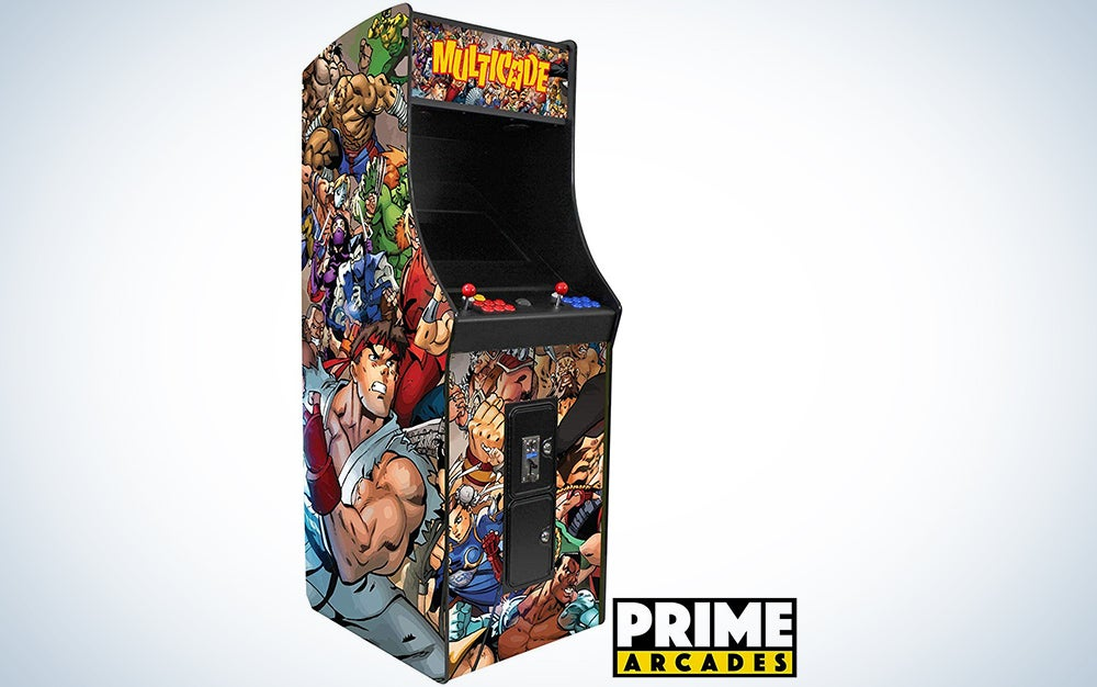 2 Player Upright Arcade Machine with 3,016 Games in 1 22