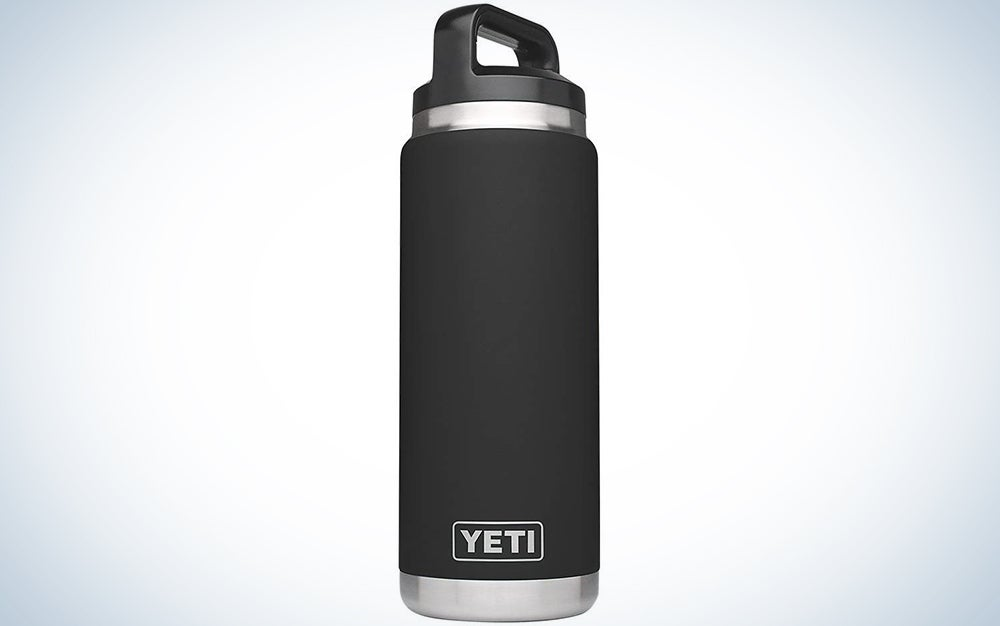 YETI Rambler 26-Ounce Vacuum Insulated Stainless Steel Bottle with Cap