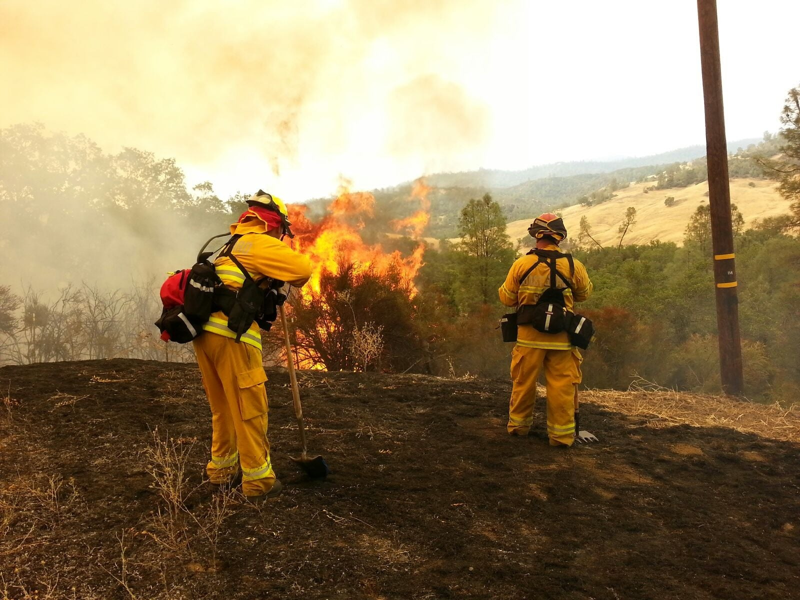 California is primed to burn—but humans aren't exactly helping