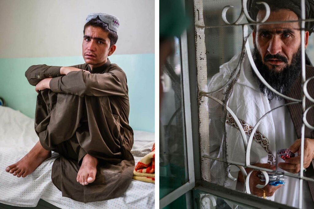 medical patients in eastern Kandahar