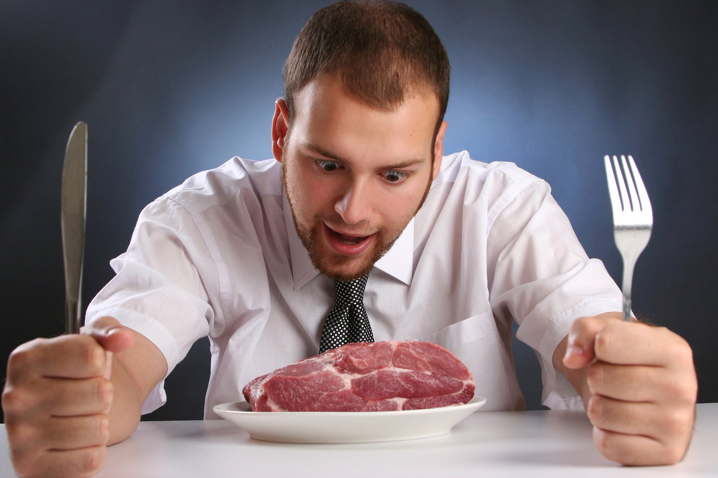 People think beef is manly, and that's a big problem