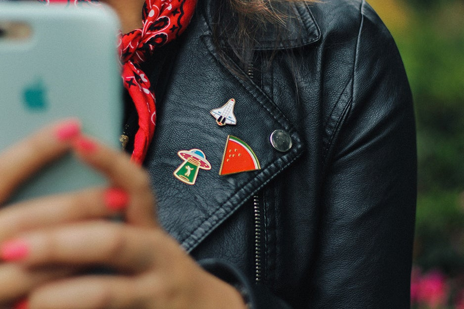 Pins and patches that show off your flair for science