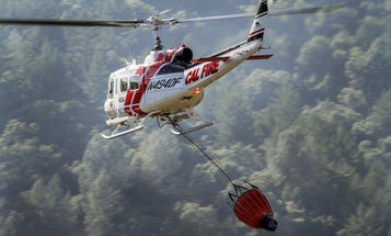 California's aerial firefighters struggle against record winds in Kincade blaze