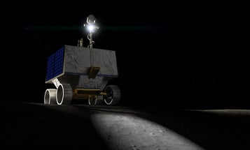 NASA's sending a rover named VIPER to map the moon's ice deposits