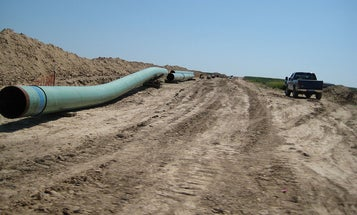 Keystone Pipeline spills 383,000 gallons of oil in North Dakota wetlands