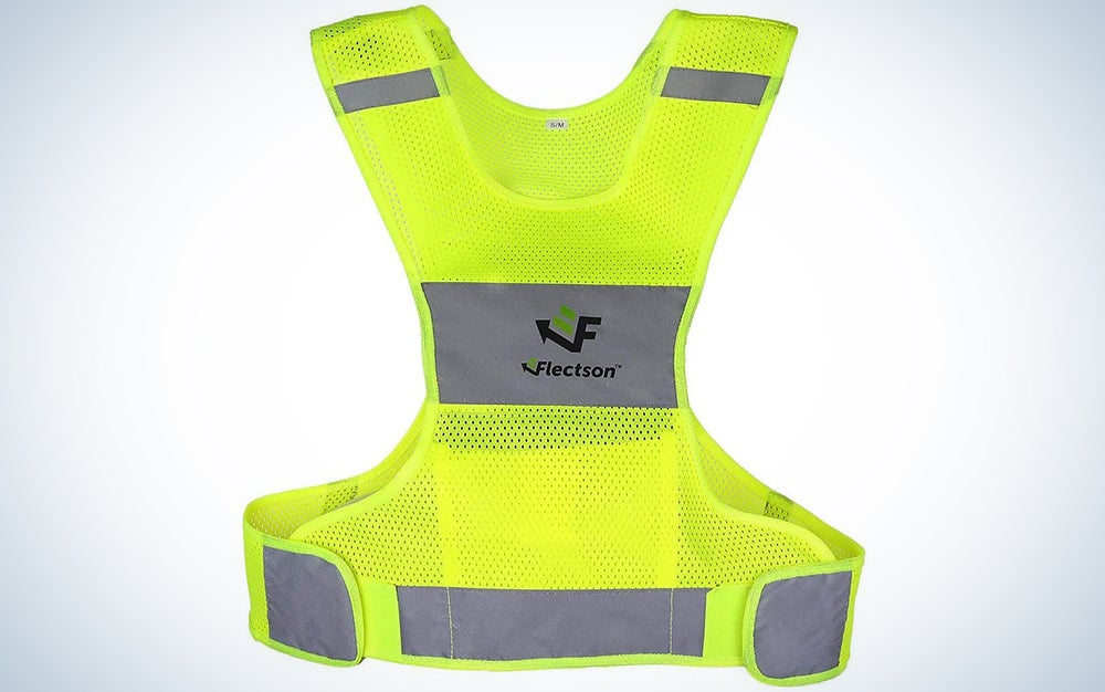 Fletson Reflective Vest for Running or Cycling