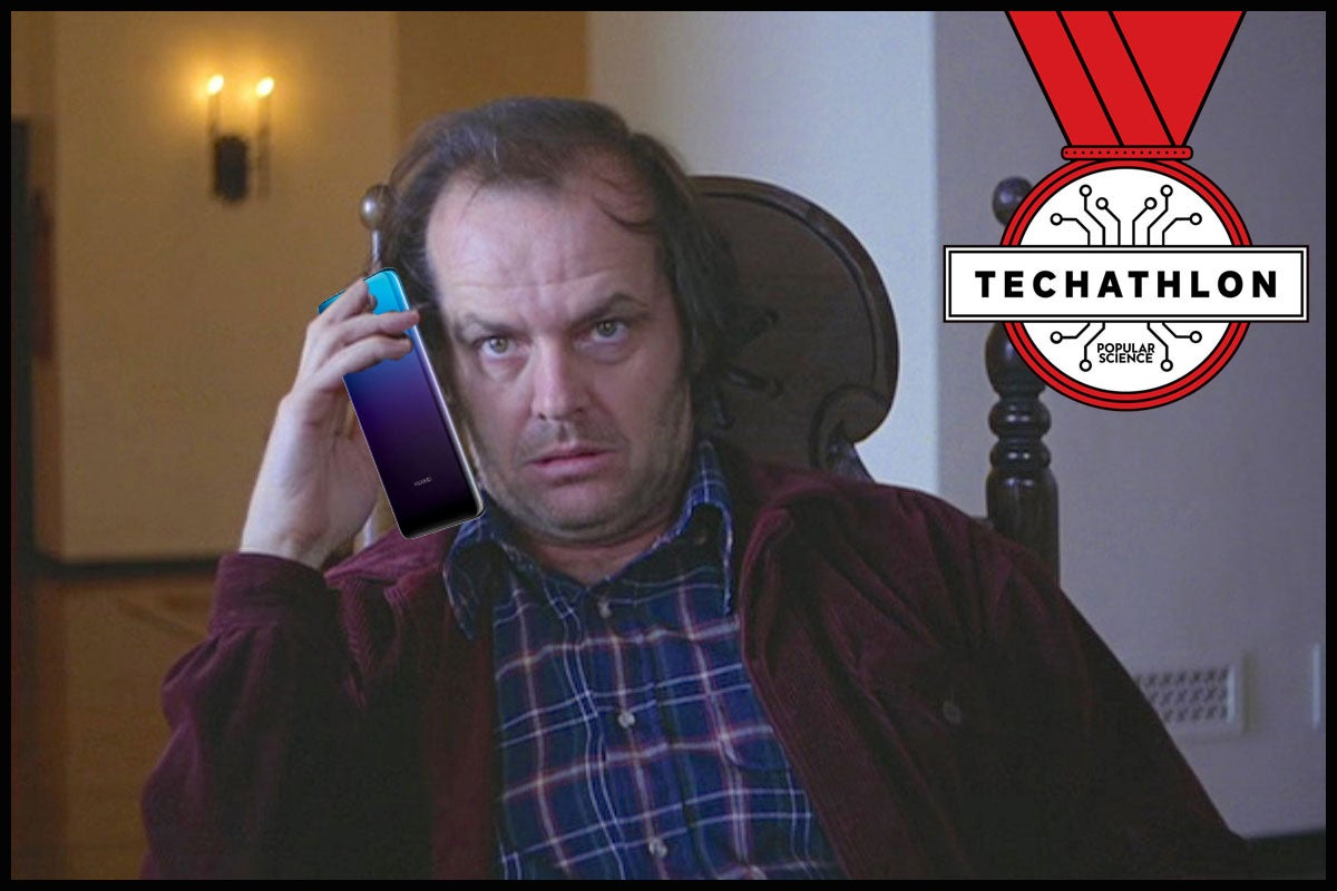 What if horror movie characters had smartphones? The Techathlon podcast crew has some ideas.
