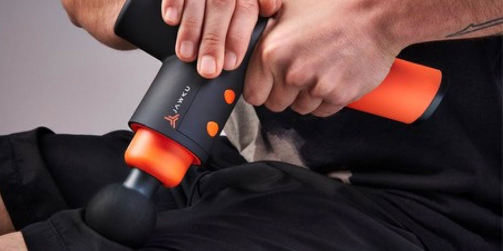 This professional-grade massage gun helps your muscles recover faster
