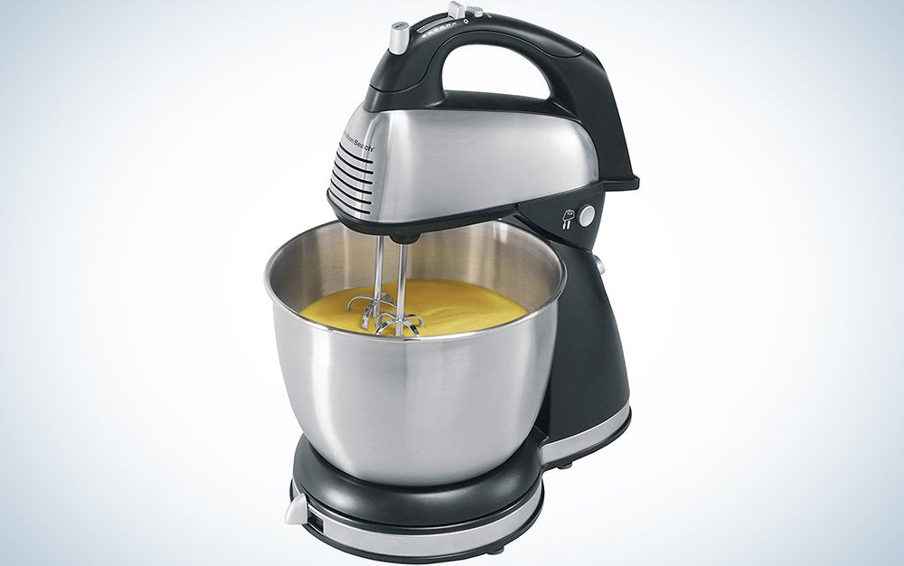Aucma Stand Mixer 6.5-QT 660W 6-Speed Tilt-Head Food Mixer