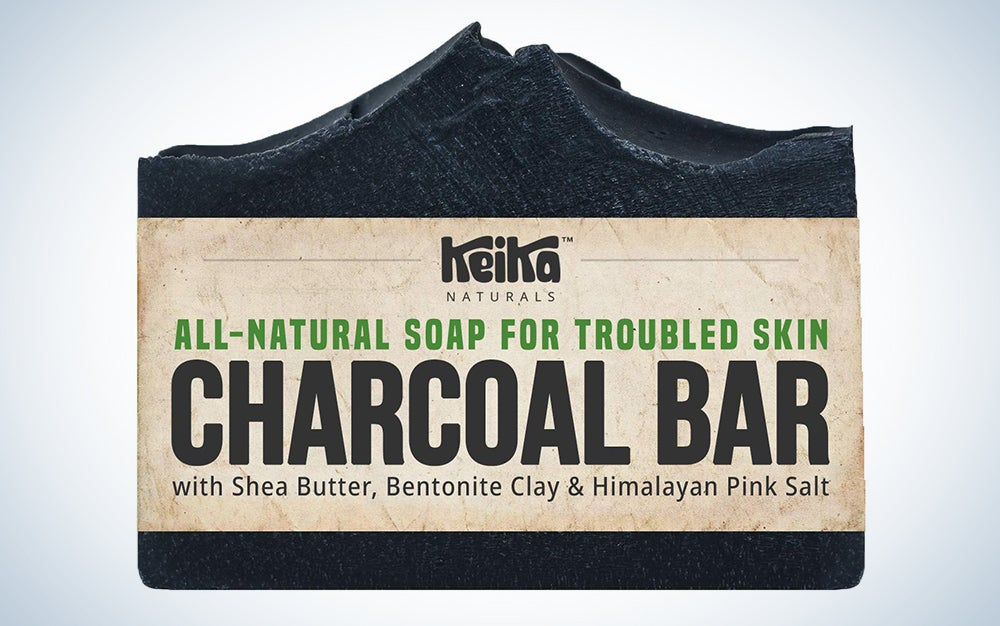 Keika Naturals Charcoal Black Soap