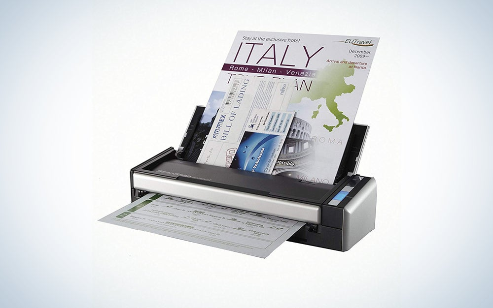 Fujitsu ScanSnap S1300i Portable Color Duplex Document Scanner