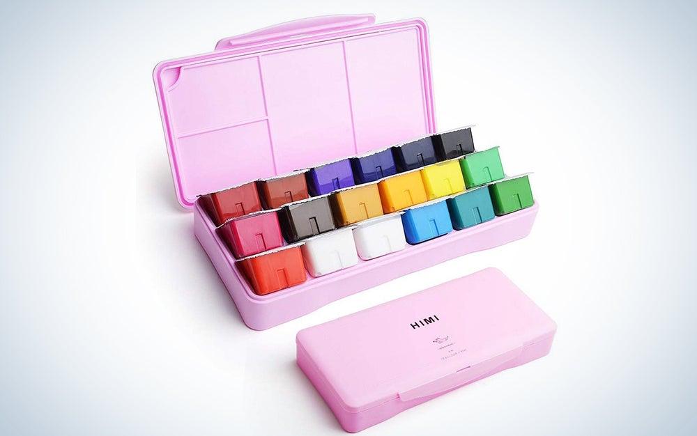 Miya Gouache Paint Set 18 Colors