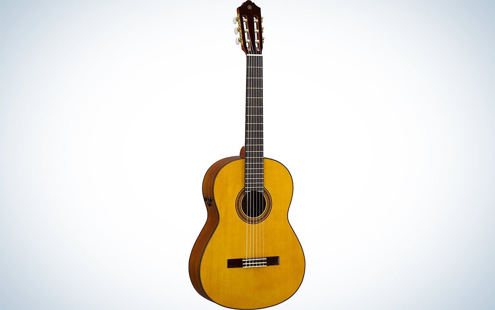 Yamaha CG-TA Nylon String TransAcoustic Guitar with Chorus and Reverb