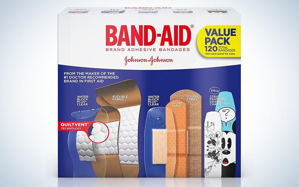 Band-Aid Brand Adhesive Bandage Family Variety Pack