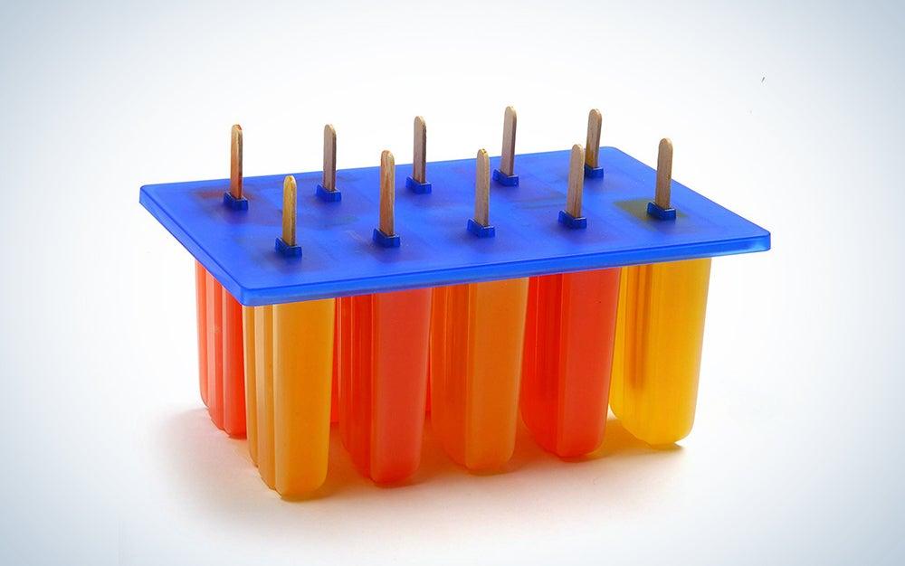 Norpro Frozen Ice Pop Maker with 24 Wooden Sticks