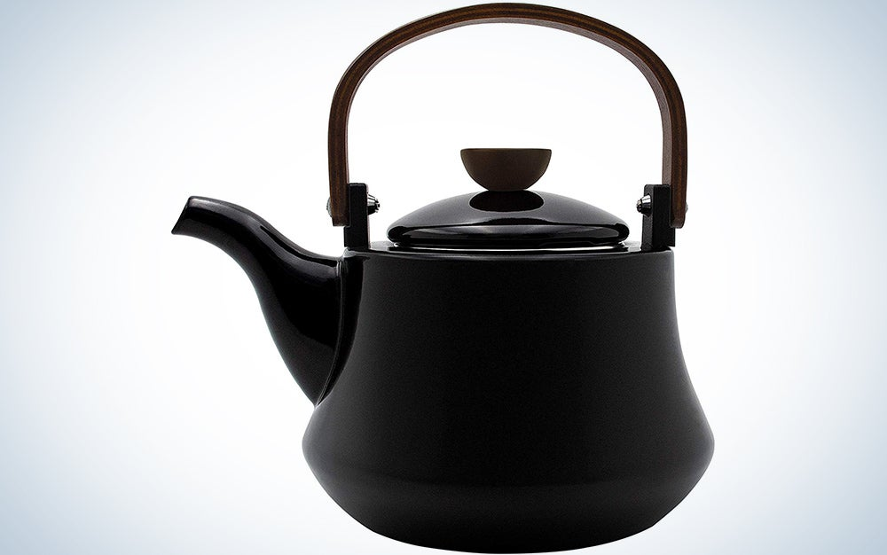 Tea Kettle Best 3 Quart induction Modern Stainless Steel Surgical Whistling Teapot
