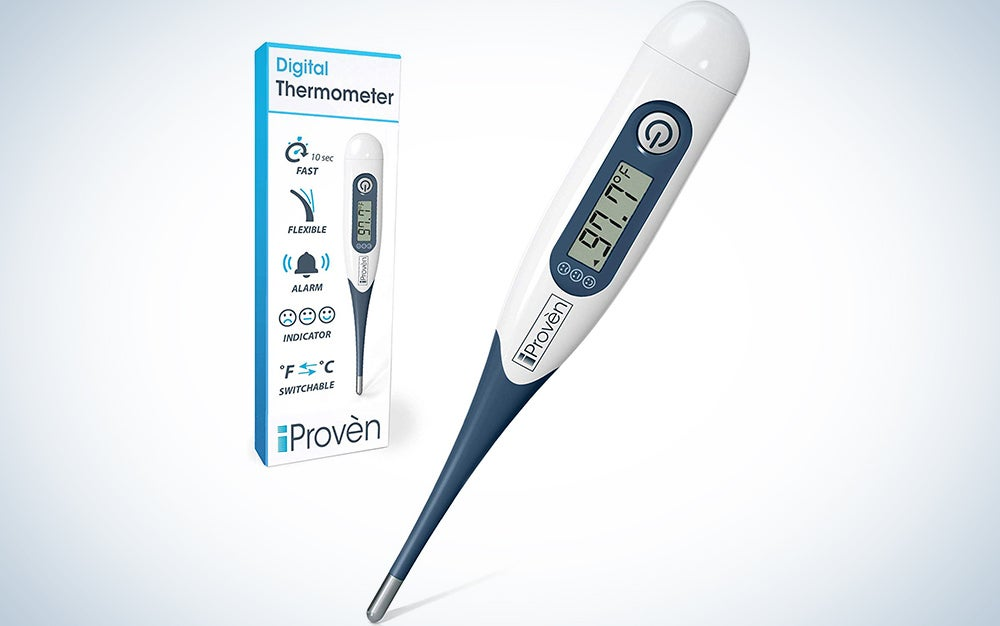 iProven Medical Thermometer, Oral & Rectal Thermometer